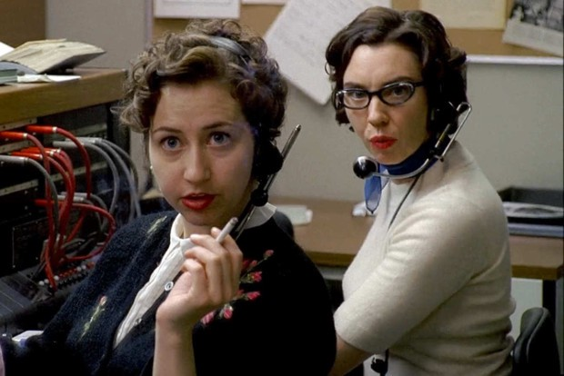 PBX operators from Mad Men.