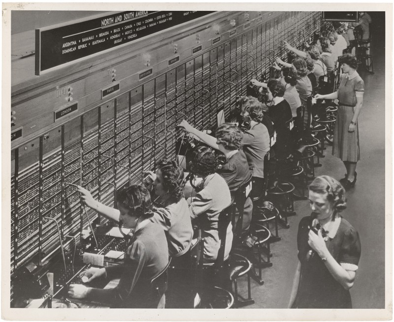Ye olde telephone exchange